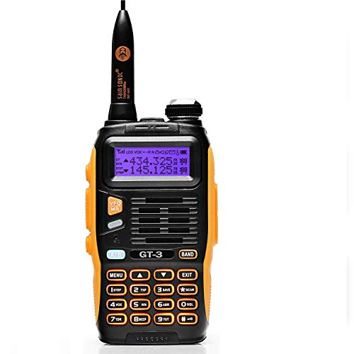 BaoFeng GT-3 UHF / VHF Dual Band Two-way Radio Ricetrasmittente