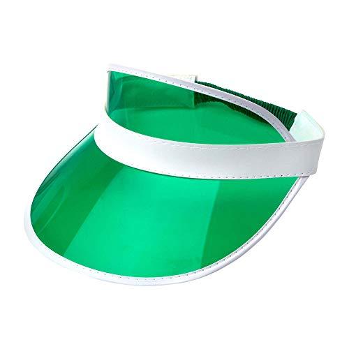 Widmann 00209 80er Jahre Sonnenkappe, Unisex– Erwachsene, Grün, Einheitsgröße