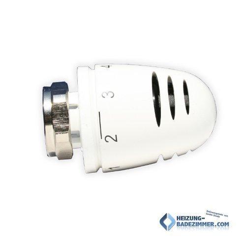 Herz Design Thermostatkopf Mini 1920060 M28 x 1,5 weiß