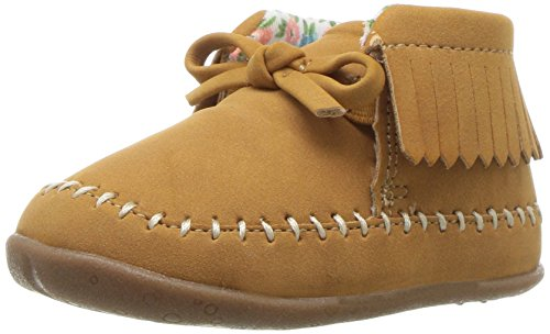 Carter's Every Step Girls' Stage 2 Stand,Gilly-SG Fashion Boot, Khaki,3.5 M US (9-12 Months)