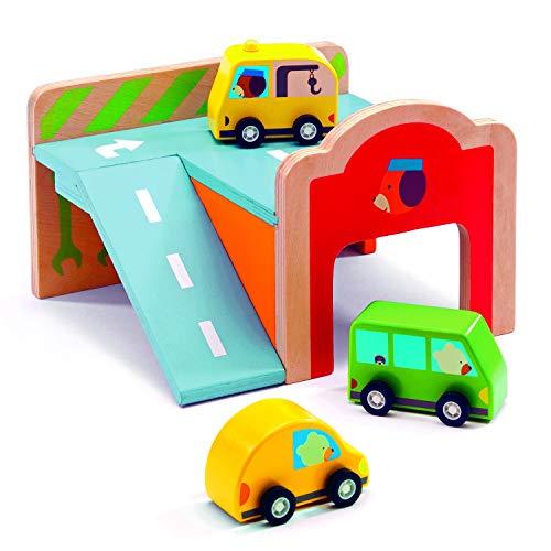 Djeco - Holzspielzeug Mini Garage