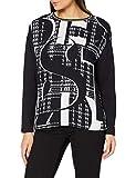 Betty Barclay Collection 2416/1946 Camisa Larga 1/1 Brazo, Negro/Crema, 40 para Mujer