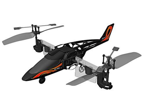 Flybotic by Silverlit - Héli Twister - Hélicoptère Acrobatique - 3 canaux - Jouet Volant Utilisation Intérieure - Fait des Loopings !