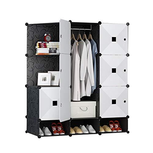 Armadio semplice e moderno montaggio economico in imitazione legno porta scorrevole camera da letto provincia spazio armadio piastra rollsnownow