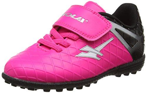 Gola Talos Vx Velcro, Zapatillas de Fútbol Infantil, Rosa (