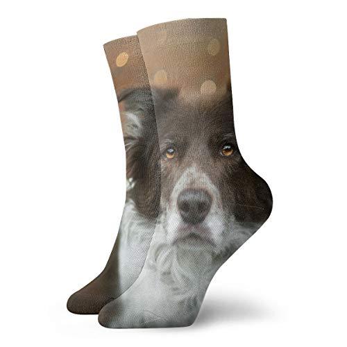 BJAMAJ Unisex Socken H& & Dors Interessante Polyester Crew Socken Erwachsene Socken Baumwolle