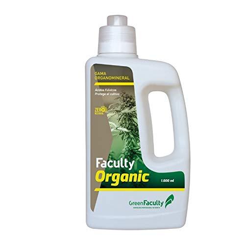 GreenFaculty Abono Fertilizante: Faculty Organic: Materia Orgánica Líquida Ecológica. Cero Residuos, Apto para Cultivo Medicinal (1 l)