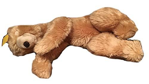 Sunkid Kuscheltier Plüschteddy Teddybär - Schlafender Bär - ca. 45 cm lang