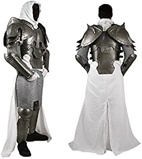 NauticalMart Conquest Warcrafted Armour Silver/Black One Size