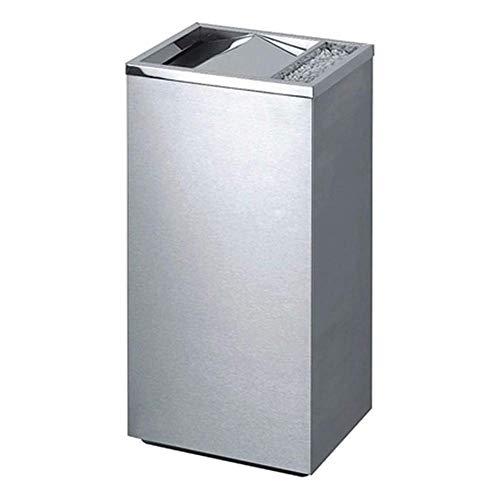 Portarrollos de Papel higiénico Caja de pañuelos de Acero Inoxidable con cenicero 15cm