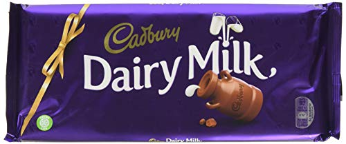 Cadbury Dairy Milk 4 Chocolate Bar (Pack of 15)
