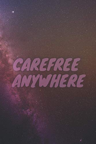 Carefree ANYWHERE: Purple Starry Sky