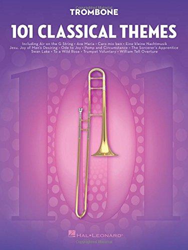 101 Classical Themes -For Trombone- (Book): Noten, Sammelband für Posaune