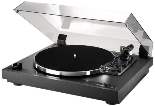 Thorens TD 190-2 - Tocadiscos (Corriente alterna, 115-230V, 50-60 Hz, Negro, Metal, 440 x 120 x 360 mm)