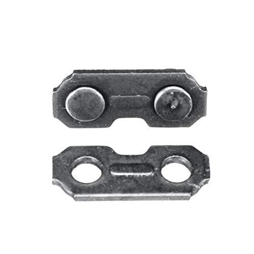 6pcs 3/8 .063 Eslabones de unión de cadena de motosierra Piezas de repuesto de cadena de sierra