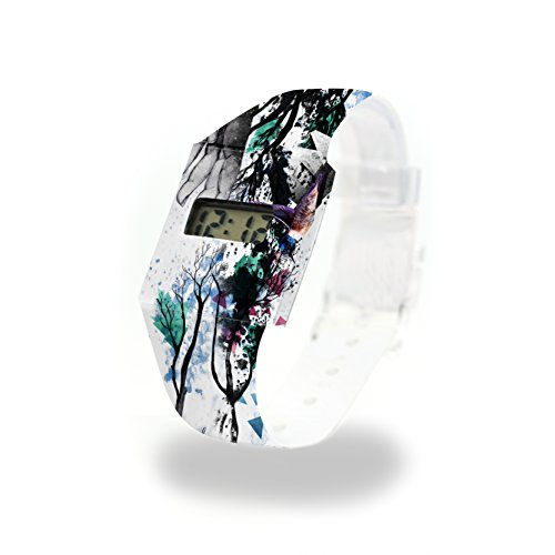 DIE HAND GOTTES - Pappwatch - Paperlike Watch - Digitale Armbanduhr im trendigen Design - aus absolut reissfestem und wasserabweisenden Tyvek® - Made in Germany, absolut reißfest und wasserabweisend