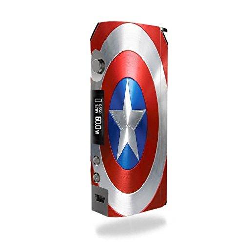 Kanger KBOX Mini Vape E-Cig Mod Box Vinyl DECAL STICKER Skin Wrap / All American