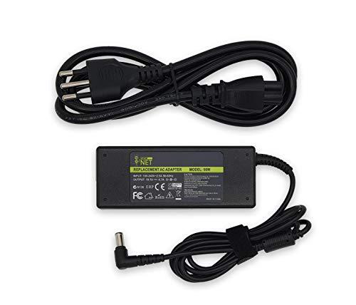 New Net - Caricabatterie Alimentatore Caricatore Adattatore PC Notebook Compatibile con Sony vaio 19.5V 4.7A 90W - Connettore: 6.5 mm X 4.4 mm