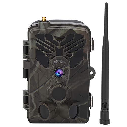 Tissting Cámara de Vida Silvestre Sensor de Alta definición Equipo de cámara de visión Nocturna por Infrarrojos Cámara Impermeable para Viajes al Aire Libre con Lente Gran Angular de 120 Grados