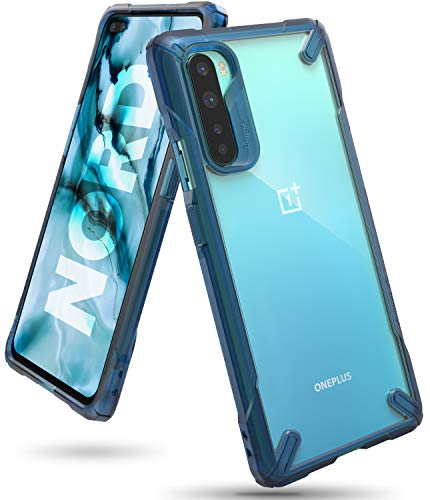 Ringke Fusion X Case Designed for OnePlus Nord (2020) - Space Blue