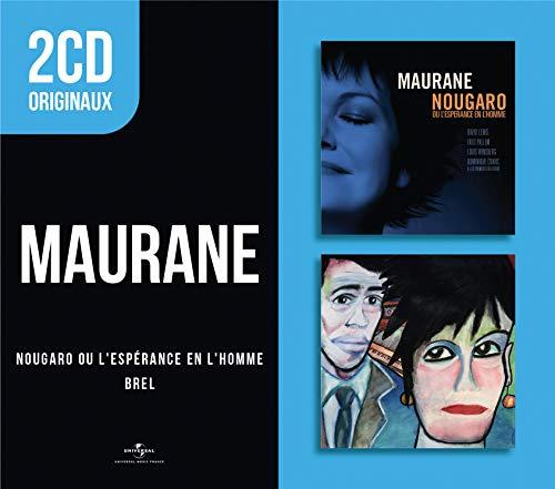 2 CD Originaux : Nougaro Ou l\'Espérance en l\'homme/BREL