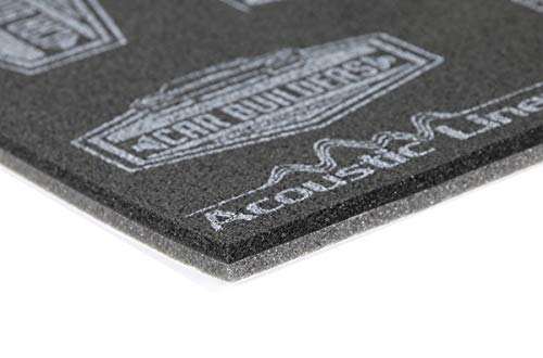 Acoustic Liner- Modern Day Carpet Underlay (40sqft) Sound and Heat Control- Replace Cotton Shoddy