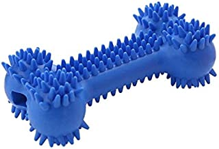 DORLIONA Dog Toys Pet Supplies TPR Rubber Bite-Resistant Toys Big Bone Molar Toys:L, M