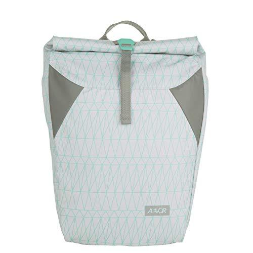 AEVOR Rolltop - erweiterbarer Rucksack, wasserabweisend, gepolsterter Rücken - Pop Mint