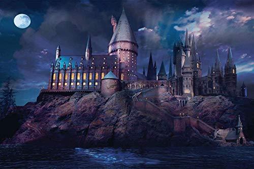 Legpuzzel 1000 School of Magic Puzzels 1000 Stukjes Legpuzzels Voor Kinderen, Volwassen Decompressie Hoge Moeilijkheidsgraad Montage Toyadults Family Game Puzzles Magic Castle