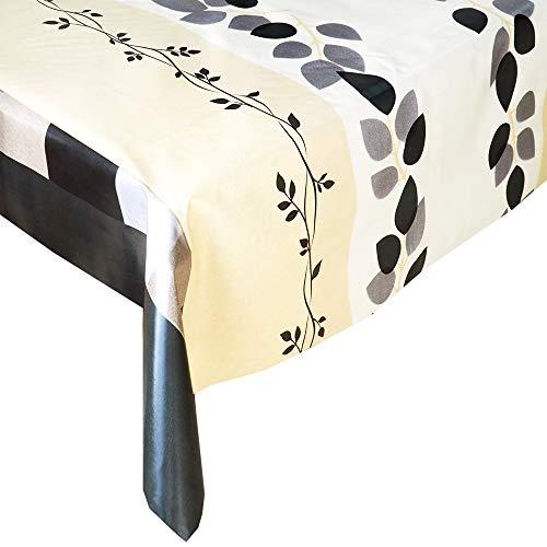 Mantel Hule Classic Beige · Mantel Antimanchas Resistente y Muy FACIL DE Limpiar · Mantel Mesa Rectangular en PVC · Hules para Mesas · Múltiples Diseños y Económicos · Medidas ( 160 cm x 140 cm )