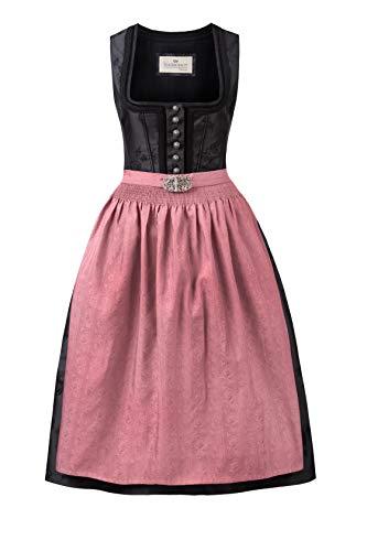 Stockerpoint Damen Dirndl Odette Kleid für besondere Anlässe, schwarz, 40