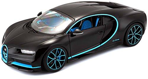 Bburago 1:18 Bugatti Chiron, zwart