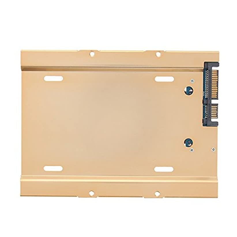 かすれたささやき誤解するサーバー2.5~3.5インチハードディスクトレー引き出しボックスは、アルミSATA3インターフェース3.5キャディSATA3フルスクリュービットで使用できます。