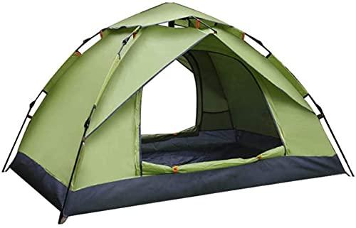SHWYSHOP Tiendas de campaña para camping tienda automática pop-up tienda ligera impermeable y resistente al viento portátil de una sola capa Mountaineerin