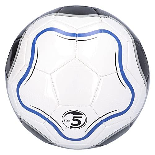 Wosune Balón de fútbol tamaño 5, balón de fútbol Inteligente, tamaño 5, balón de fútbol al Aire Libre, regate, balón de fútbol Inteligente, tamaño 5, fútbol de competición para Actividades de Ocio