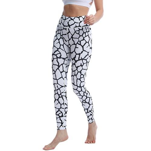 QTJY Línea de Moda Pantalones de Yoga Pantalones de chándal de Cadera melocotón Femeninos Coloridos Leggings Deportivos de Cintura Alta Pantalones de Yoga para Correr H M