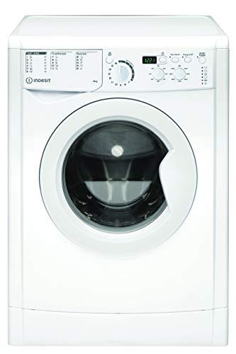 Indesit EWUD 41051 W EU N, Lavatrice Slim a carica frontale, 4 KG, F, 1000 GIRI MIN