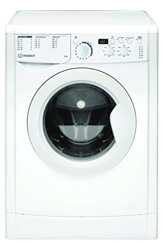 Indesit EWUD 41051 W EU N, Lavatrice Slim a carica frontale, 4 KG, A+, 1000 GIRI/MIN
