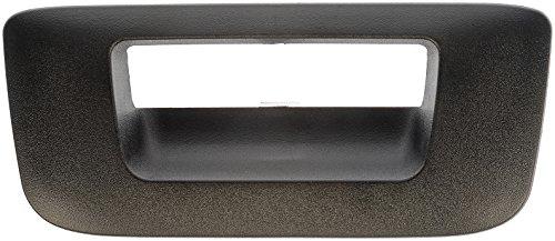 Price comparison product image Dorman 80124 Tailgate Handle Bezel for Select Chevrolet / GMC Models,  Black
