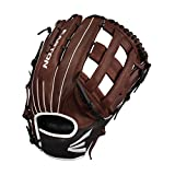 EASTON EL JEFE Slowpitch Softball Glove | 2020 | Right-Hand Throw | 14' | All Position Glove | Dual Bar H Web | Diamond Pro Steer Leather | Oiled Cowhide Palm + Lining | Deep Pocket | EJ1350SP
