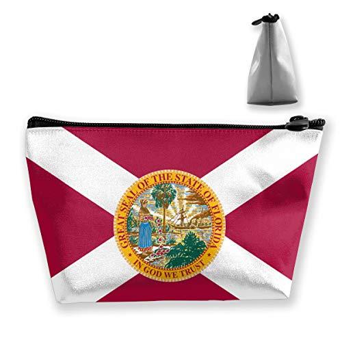 Floride State Flag Organisateur de Maquillage Trousse de Toilette pour Brosses Crayons Accessoires