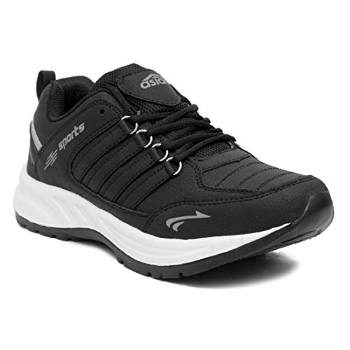 ASIAN Cosco Sports Running Shoes for Men (Size: 11 UK, Color: Black)