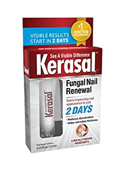Kerasal Fungal Nail Renewal Restores Appearance of Discolored or Damaged Nails 0.33 fl oz