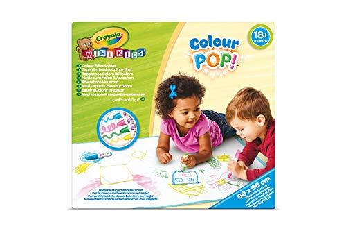 CRAYOLA- Tappetone Colora&Ricolora, Maxi Superficie Riutilizzabile per Disegnare e Colorare, 81-8132