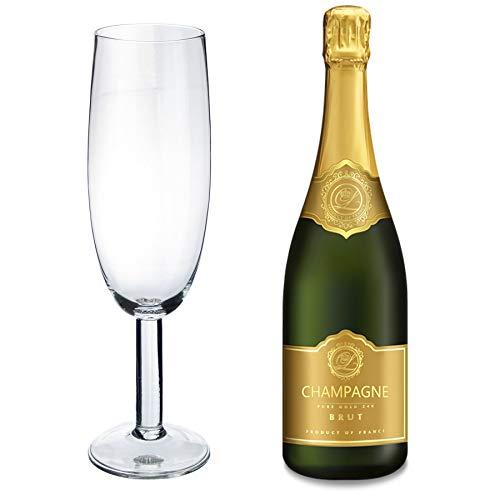 Rink Drink Riesige Champagner-/Proseccoflöte - 750 ml