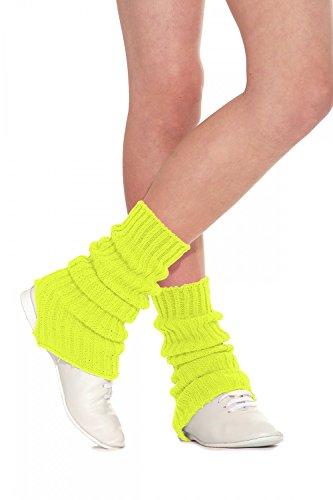Roch Valley SLW - Calentadores de Pierna para Mujer, Talla L, Color Amarillo
