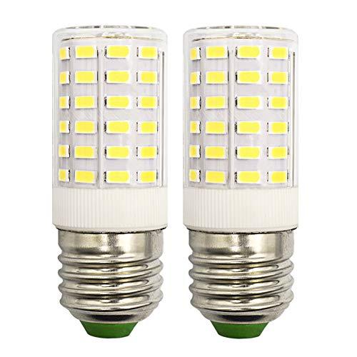 Ovallampen mit Gitter Weiße Werkstattleuchten im 2er SET mit 2 dimmbaren LEDs