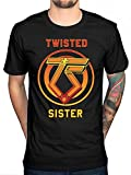 Photo de Men Cotton T Shirt Twisted Sister You Can't Stop Rock N Roll T Shirt Heavy Metal Rock Band Fashion Cause Tee Tops