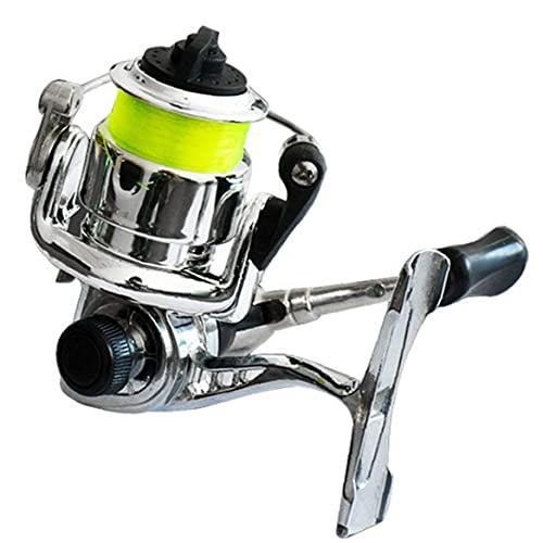 Naisicatar Carrete De Pesca Spinning Mini 100 Bolsillo Pesca Rueda De Pesca Herramienta De Pesca De Mar Accesorios De Pesca Estilo 1
