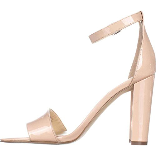 Ivanka Trump Womens Emalyn Leather Open Toe Casual Ankle Strap, Pink, Size 6.5